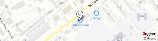 Магазин автоаксессуаров на карте Минусинска