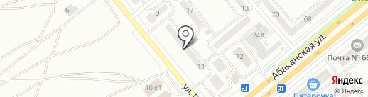 Наш дом на карте Минусинска