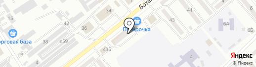 Магазин бензоэлектроинструмента на Ботанической на карте Минусинска