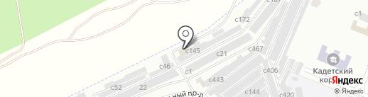 МАТРИЦА на карте Минусинска