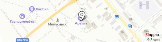 Star Line на карте Минусинска
