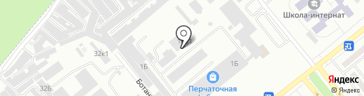 Вираж на карте Минусинска