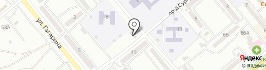 Семья на карте Минусинска