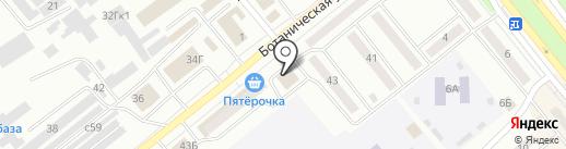 Форт, ГК на карте Минусинска