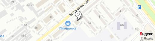 Евролэнд-М на карте Минусинска