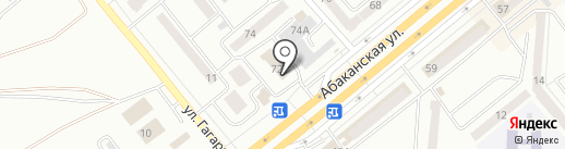 Маникюрный кабинет Виктории Леканцевой на карте Минусинска