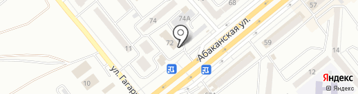 Кабинет уролога на карте Минусинска
