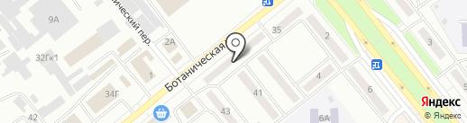 Электроника на карте Минусинска