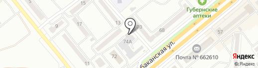 QIWI на карте Минусинска