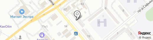 Медлюкс на карте Минусинска