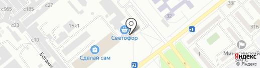 Мебель Град на карте Минусинска