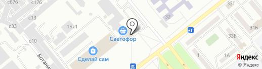 Полезные продукты на карте Минусинска