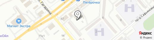 Мария на карте Минусинска