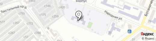 Минусинский детский дом на карте Минусинска