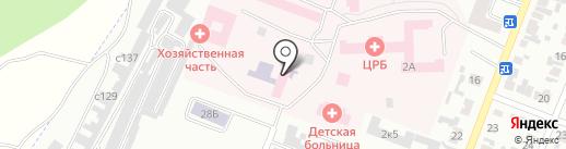 Минусинская центральная районная больница на карте Минусинска
