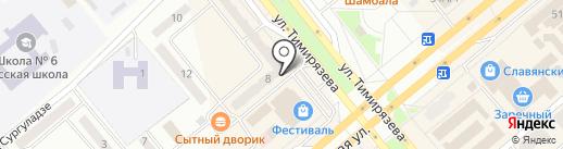 Минусинское межрайонное отделение на карте Минусинска