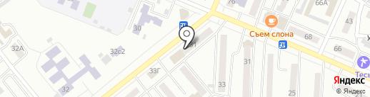 Плазма на карте Минусинска
