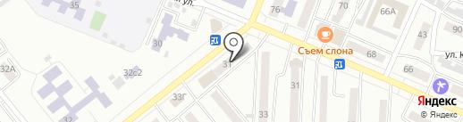 Хозяин+ на карте Минусинска