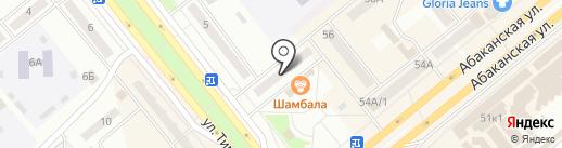 Мадонна на карте Минусинска