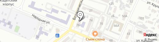 Персона на карте Минусинска