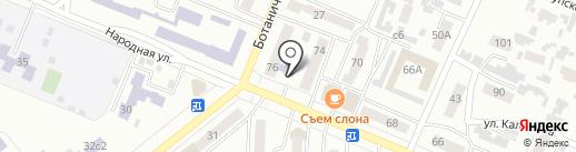 Минусинская городская централизованная библиотечная система на карте Минусинска