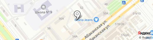 Центр дезинфекции в Красноярском крае, г. Красноярск на карте Минусинска