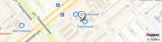 Пятница на карте Минусинска