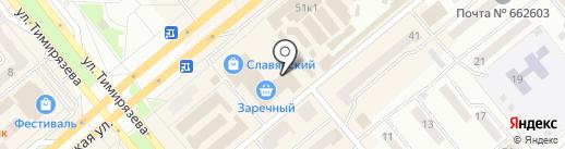 София-тур на карте Минусинска