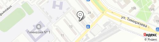 Минусинская стоматологическая поликлиника на карте Минусинска
