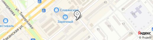 BT Konsalt на карте Минусинска