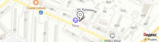 Земли города, МУП на карте Минусинска