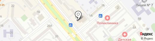 АвтоФантастика на карте Минусинска