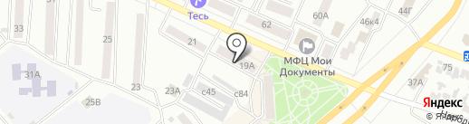 Лиза на карте Минусинска