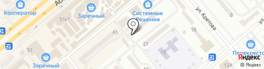 Миндаль на карте Минусинска