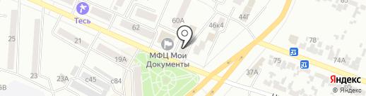 Юничел на карте Минусинска