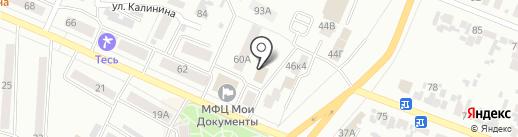 Краевой Центр Встроенной Мебели на карте Минусинска