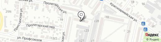 Ключ на карте Минусинска