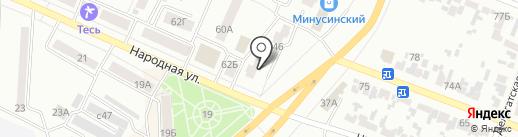 KYOTO на карте Минусинска