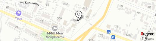 Минусинская коллегия адвокатов Красноярского края на карте Минусинска