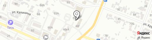 Смайл на карте Минусинска