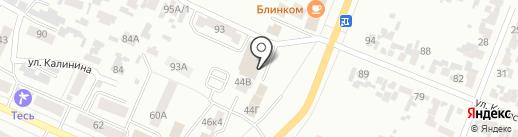 Денталь на карте Минусинска