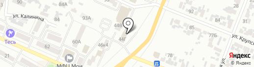 Pride на карте Минусинска