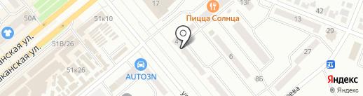 Надеев А.Н. на карте Минусинска