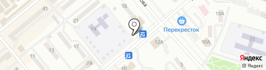 Киоск по продаже печатной продукции на карте Минусинска