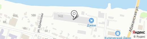 СЭЛТО на карте Минусинска