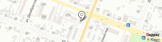 КОМСЕРВИС на карте Минусинска