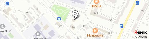 Красноярский центр МРТ на карте Минусинска