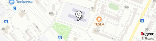 Максимум на карте Минусинска