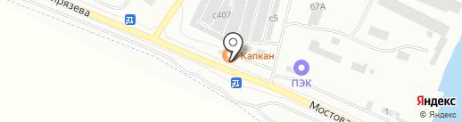 Автомотив на карте Минусинска