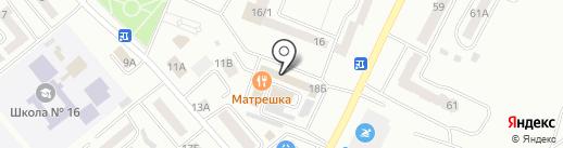 Десертной двор на карте Минусинска